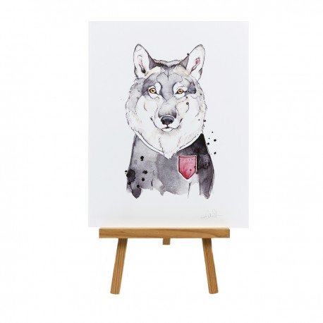 Affiche / loup