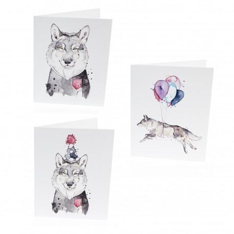 Trio - Cartes de souhaits