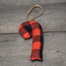 Sapin carreautée rouge et noir