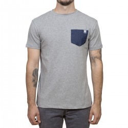 Minimalist t-shirt- Gray / Pocket