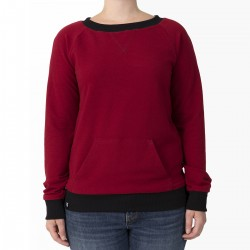 SWEATER - RED / Kanagroo Pocket