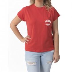 T-shirt Camping Corail - Paysage
