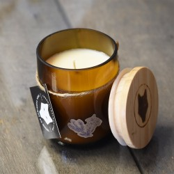 Tobacco Flower And Fir Soy Candle