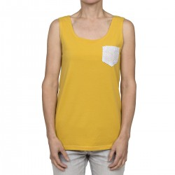 The popular yellow - dots pocket