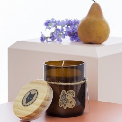 Pear and lilac Soy Candle
