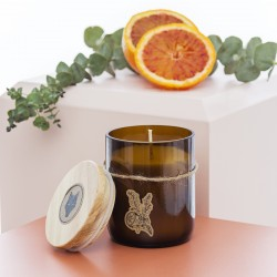 Eucalyptus and orange Soy Candle