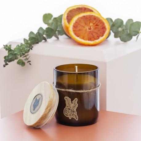 Eucalyptus and orange Soy Candle