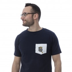 Unisex T-shirt - captain pocket