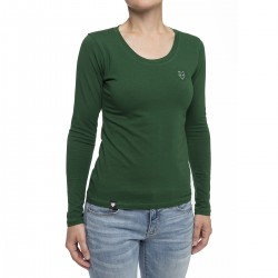 Women's long sleeve t-shirt - green