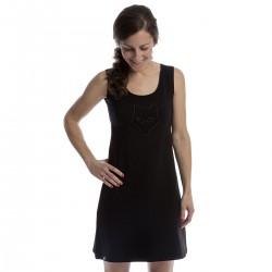 Black dress - sleeveless
