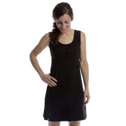 Black dress - sleeveless