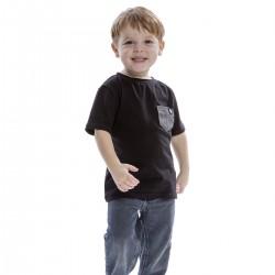 Black t-shirt - kids