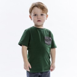 Green t-shirt - kids