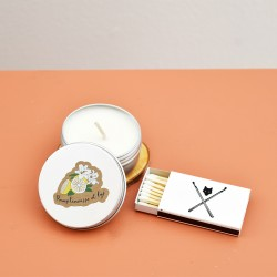 Mini soy candle set / Grapefruit and lily