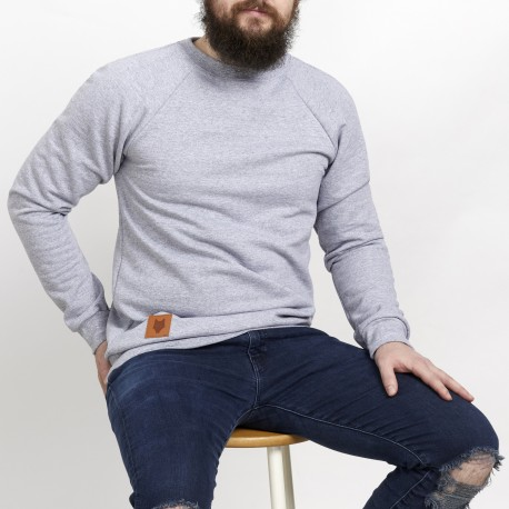Crewneck sweatshirt - Raglan sleeves