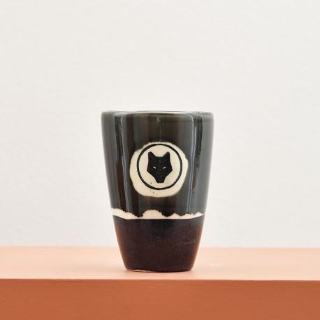 Ceramic glass - shades of black