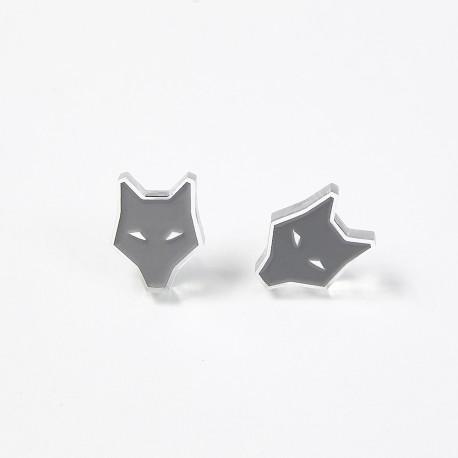 Earrings - ultimate grey