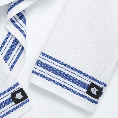Dishcloth / blue lines