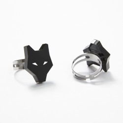 Adjustable wolf ring