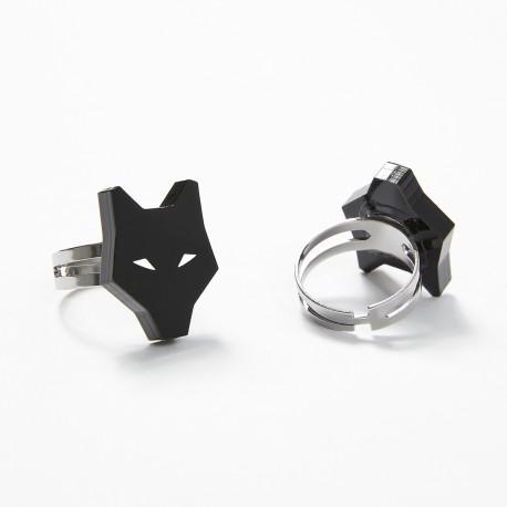 Adjustable wolf ring