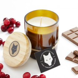 Cranberry and Chocolate Soy Candle