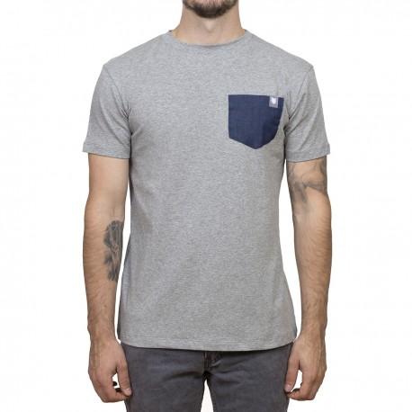 Minimalist t-shirt- Gray / Pocket