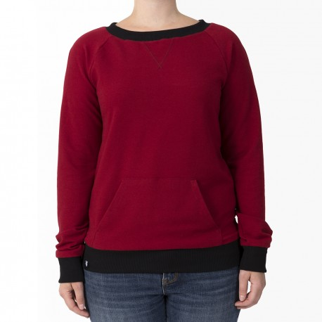 SWEATER - RED / Kanagroo Pocket