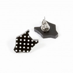 Polka dot earrings