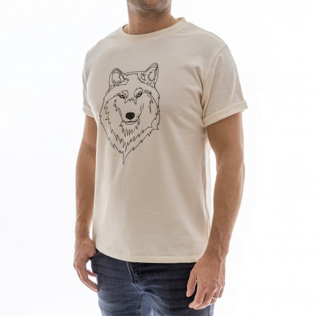 Wolf shirt - Organic cotton